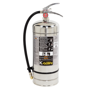 Stainless Steel K Guard Fire Extinguisher